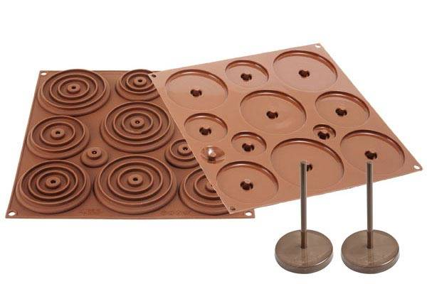 Stampo per uovo pasquale 3D in cioccolato
