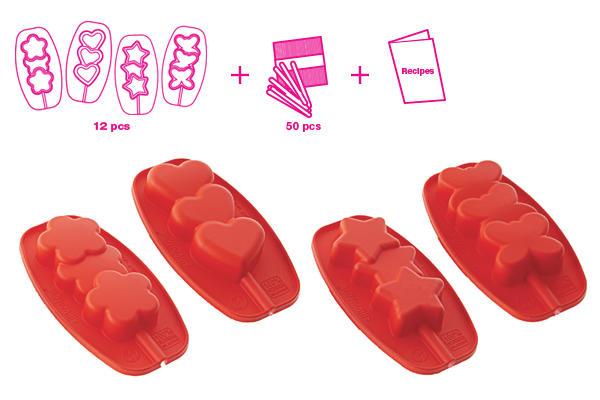 stampo silikomart kit ice pops