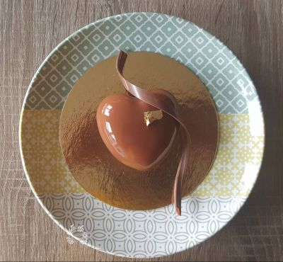 Petit coeur de chocolat