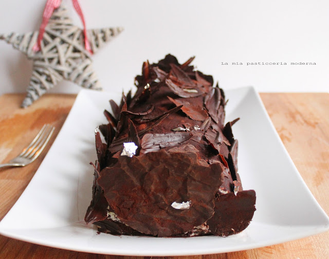 Rotolo al cacao e mascarpone